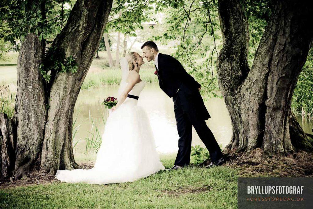 fotografering af bryllup