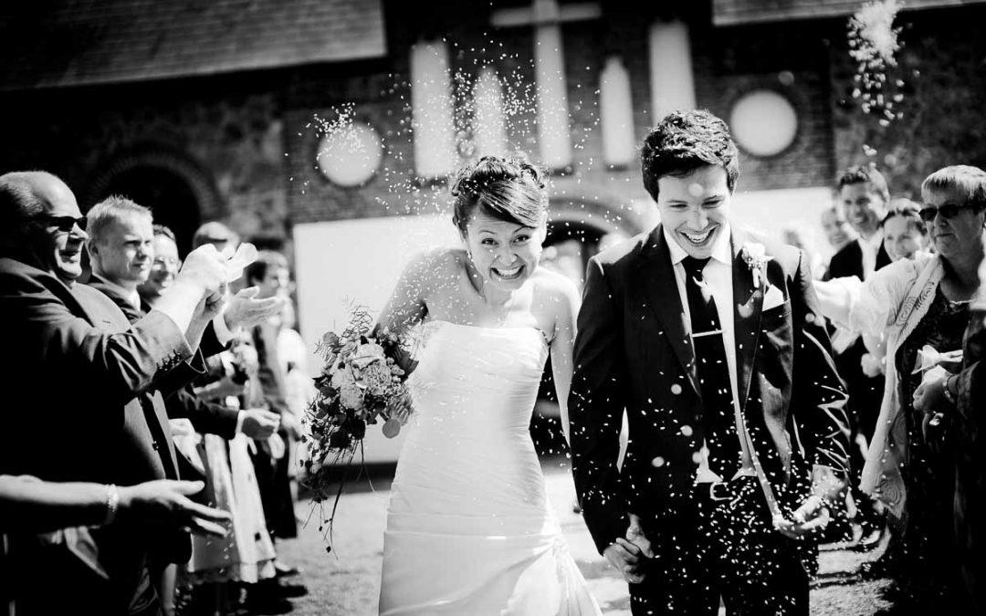 Bryllupsfest på Rosenholm Slot ved Hornslet