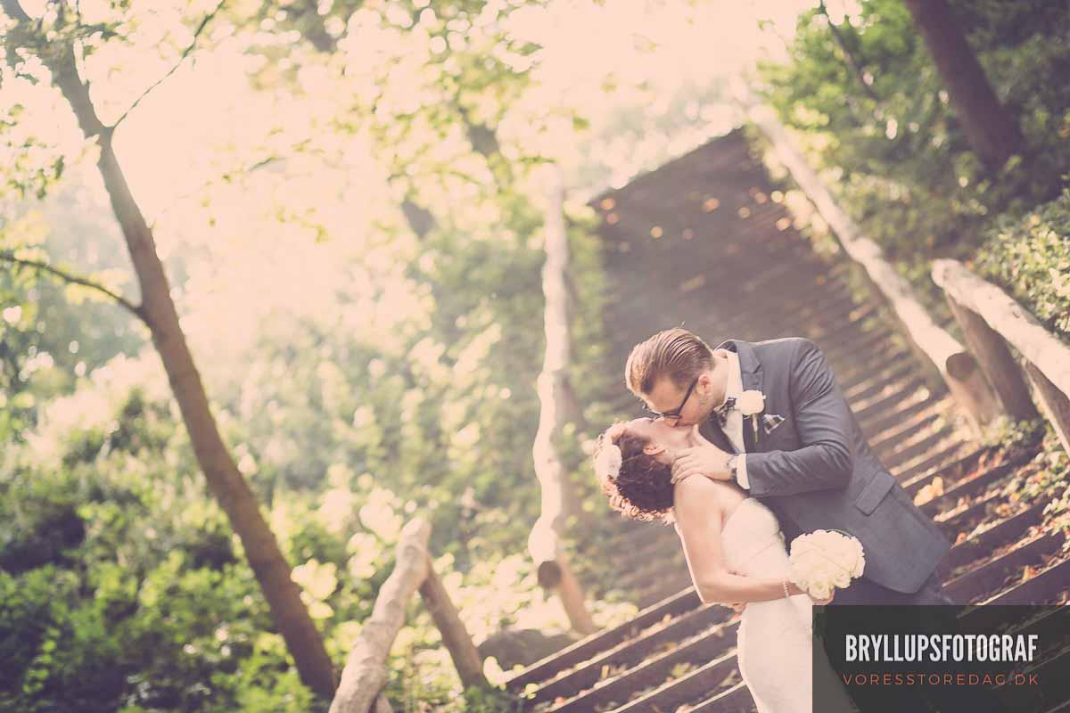fotograf til sit bryllup