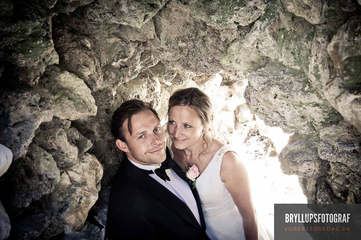 Bryllupsbillederne er et smukt minde