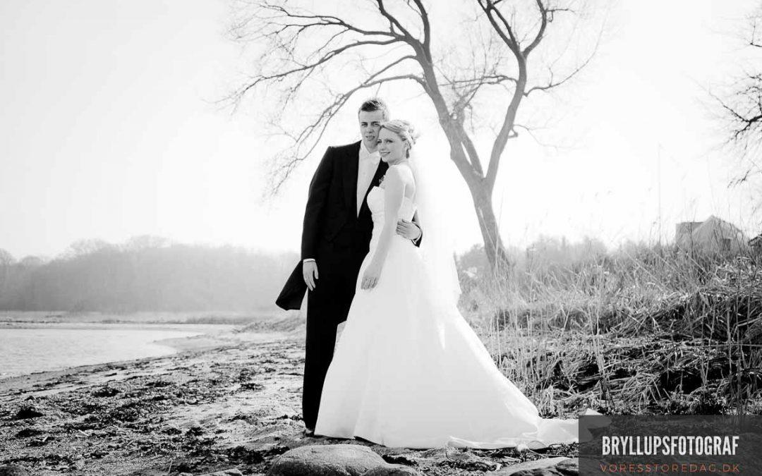 Vi blev valget for brudeparret